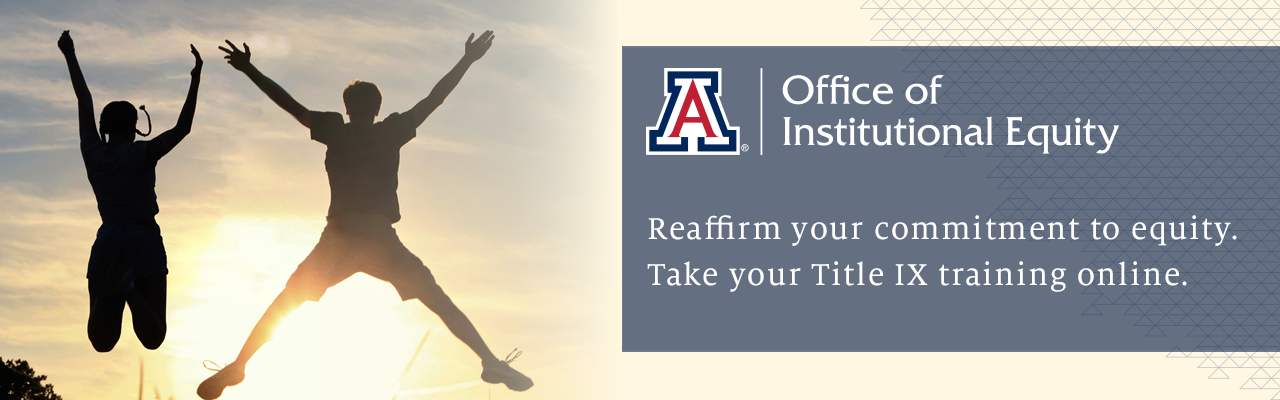 Reaffirm your commitment to equity. Take your Title IX training online.