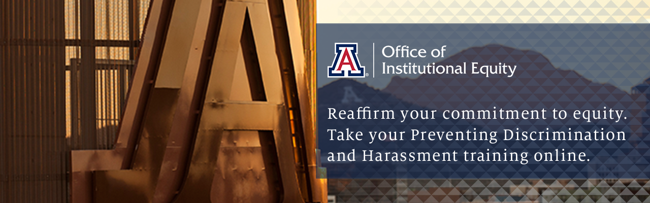Reaffirm your commitment to equity. Take your Preventing Discrimination and Harassment training online.