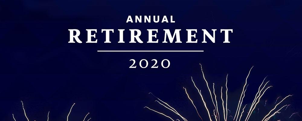 Annual Retirement 2020