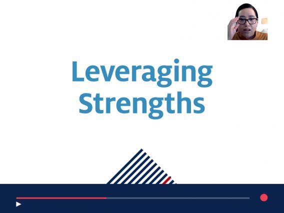 Leveraging Strengths recorded webinar for supervisors