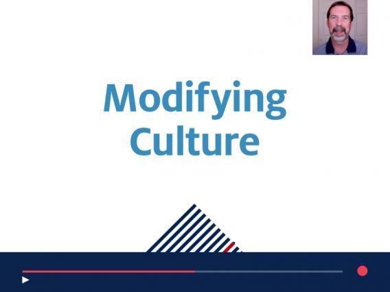 Modifying Culture recorded webinar for supervisors