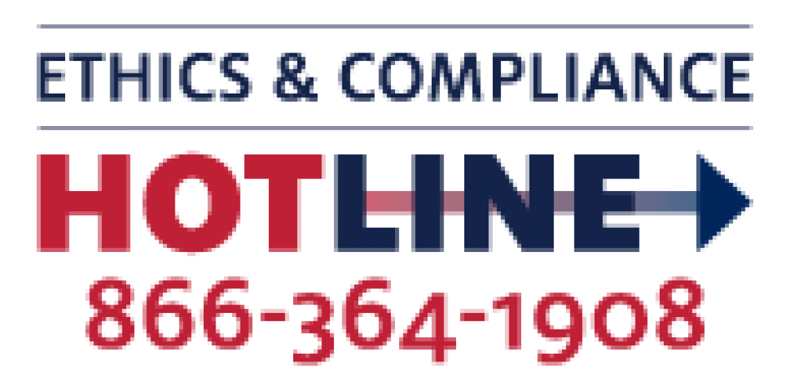 Ethics and Compliance Hotline: 866-364-1904